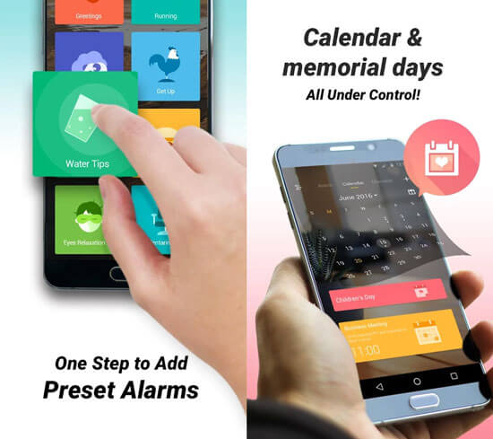 go clock best android alarm clock app