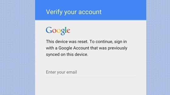 frp lock google account verification screen