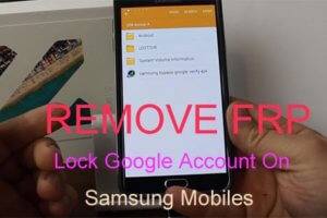 remove frp lock google account Samsung mobiles