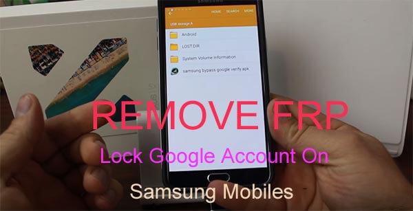 remove frp lock google account Samsung mobiles