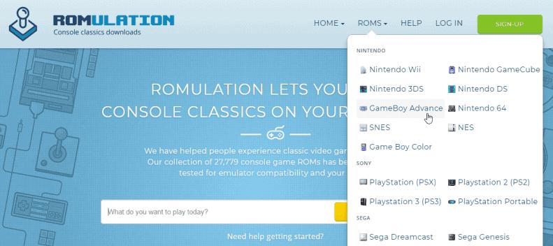 ROMulation - Best ROM Site