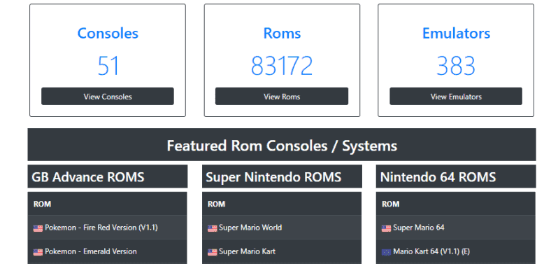 Retrostic - Best ROM Site