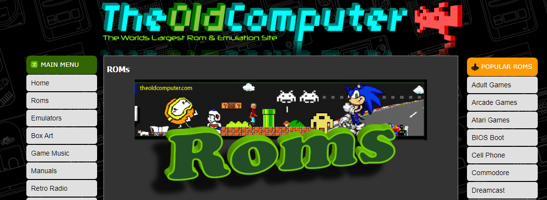Best Safe Rom Site - Old Computer ROMs