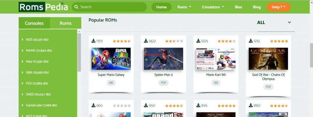 Romspedia - Best ROM Sites