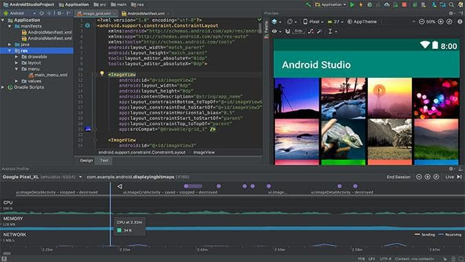 Android Studio chromebook