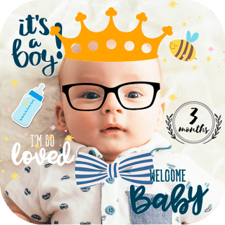 Baby Photo Frames - baby photo apps