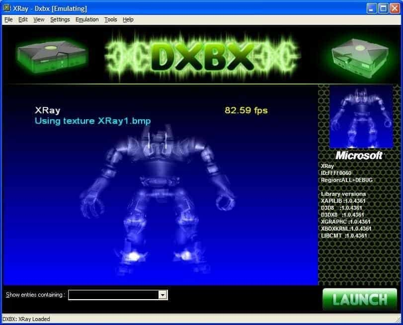 DXBX Emulator - xbox emulator for mac