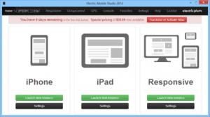 Electric Mobile Studio - apple ios emulator for windows