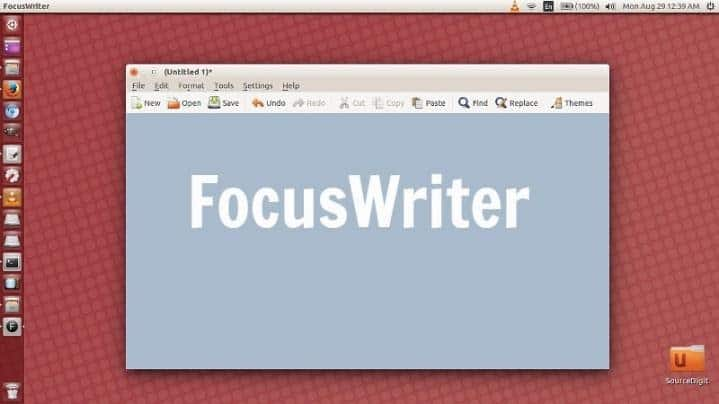 Focus Writer - memoir writing software