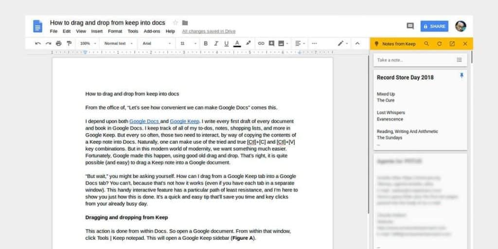 Google Docs - top writer Apps 2020