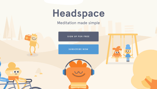 Headspace - best baby sleep apps android/iphone 2020