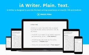 IA Writer - Best free writing softwares
