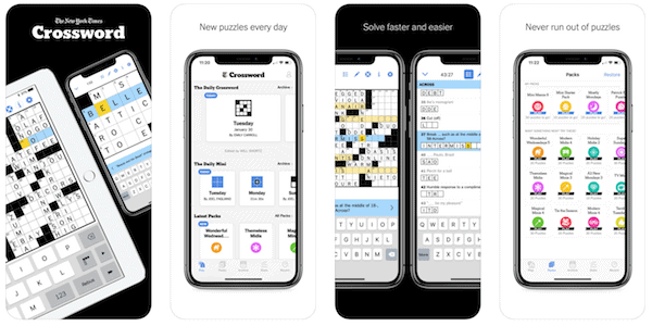New York Times Crossword - top Word Game App