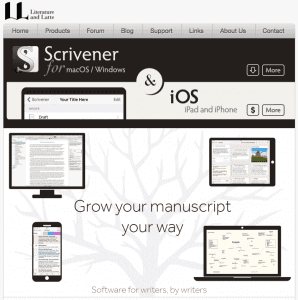 Scrivener - top writing software