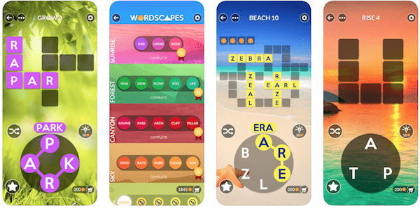 Wordscapes - Best Word Game Apps