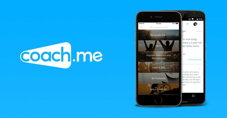 Coach.me - productive habit tracker app