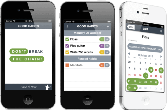 Good Habits - best free habit tracker app ios