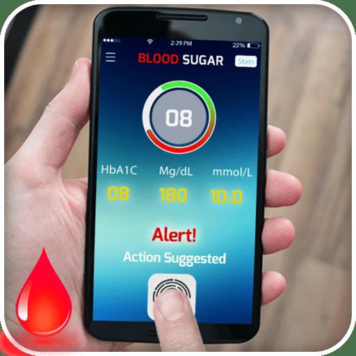 blood sugar check app