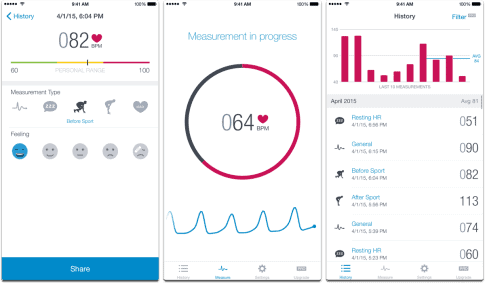 heart rate monitor app iphone