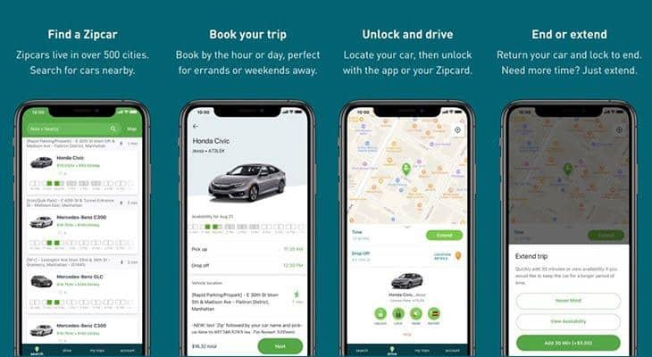 Best car rental apps 2020