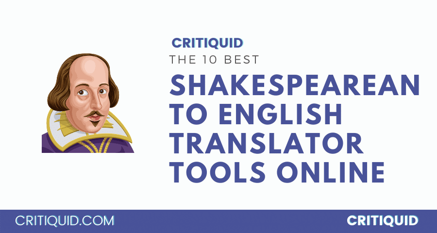 Shakespeare to English translator